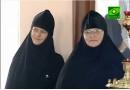 Инокини Марфа и Макрина, насельницы монастыря в честь св. Марии Магдалины в Гефсимании.